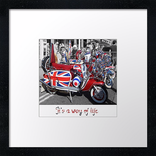 "A Way of Life (3) Print or canvas print Example shown is 10"" Framed prin"