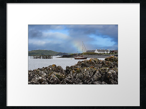 Seil Harbour print or canvas print