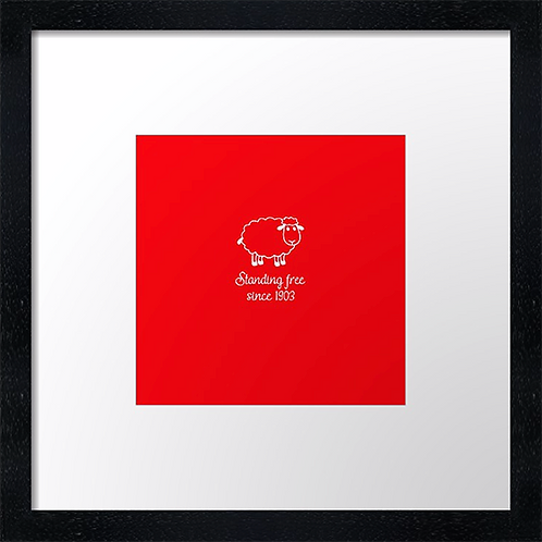 "Aberdeen FC, Stand free sheep Example shown 10"" framed print £21.50"