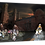Thumbnail: Evening mod gathering 40cm x 30cm framed print, canvas print or A4, A3 mount