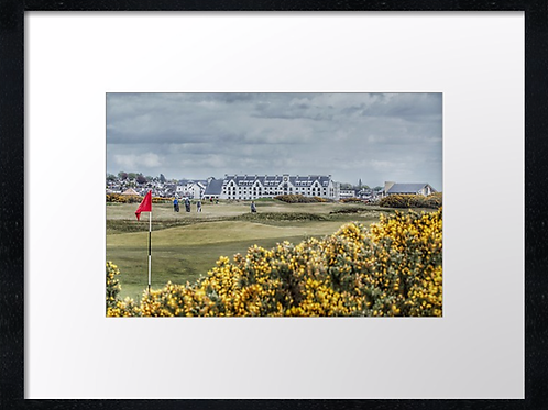 Carnoustie 1 Print or canvas, example 40cm x 30cm framed print