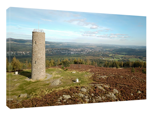Scolty Hill, Banchory drone picture (3)  40cm x 30cm framed print or c
