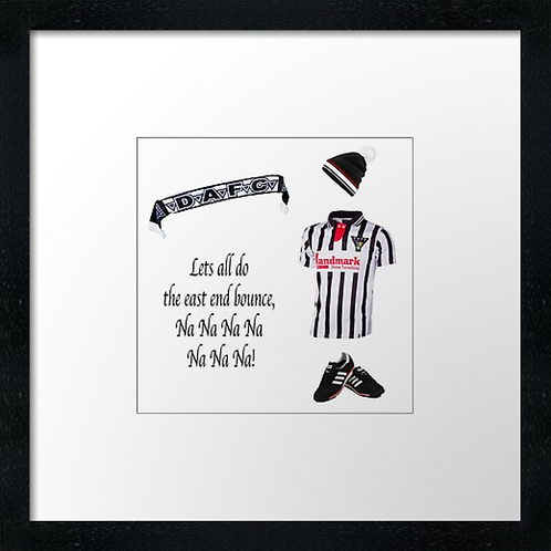 "Dunfermline fc match ready (Example shown 10"" Framed print £21.50)"