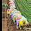 Thumbnail: Coloured sheep 40cm x 30cm framed print or canvas print