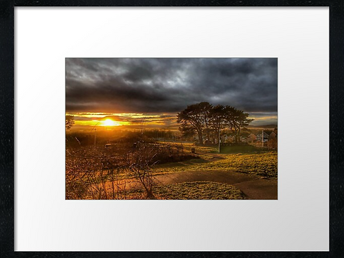 Beautiful sunset (1)  40cm x 30cm framed print or c