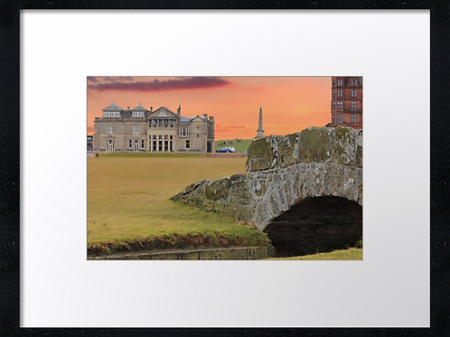 St Andrews Golf 1Print or canvas. Example 40cm x 30cm framed print
