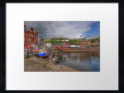 Oban Bay (1) 40cm x 30cm framed print or canvas pri