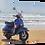 Thumbnail: Beach scooter (3) 40cm x 30cm framed print, canvas print or A4, A3 mount