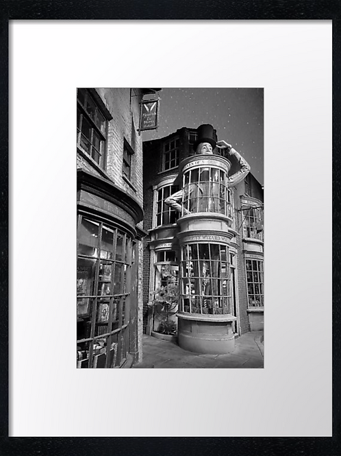Harry Potter (3) 40cm x 30cm framed print or canvas print