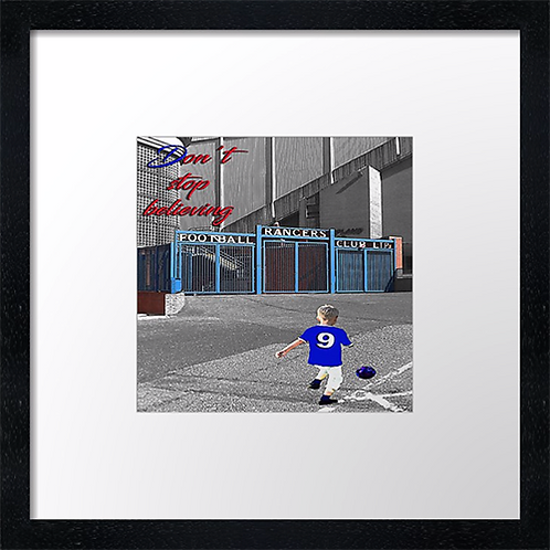 "Rangers (17)  Example shown 10"" Framed print £21.50)"