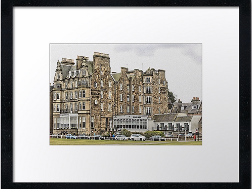 St Andrews Golf 12 Print or canvas. Example 40cm x 30cm framed print