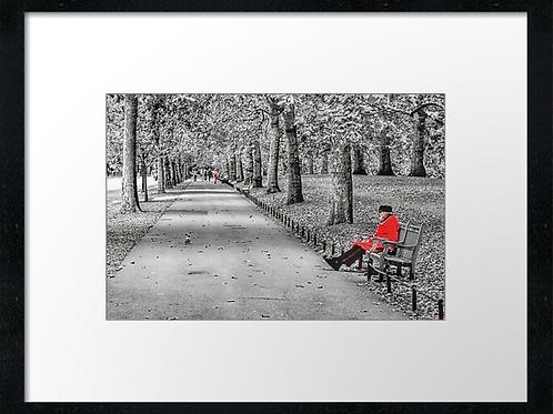 Chelsea pensioner print or canvas print (example shown 40cm x 30cm framed prin