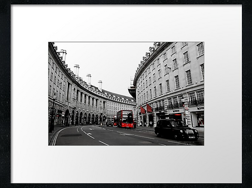 London (12) print or canvas print (example shown 40cm x 30cm framed print)