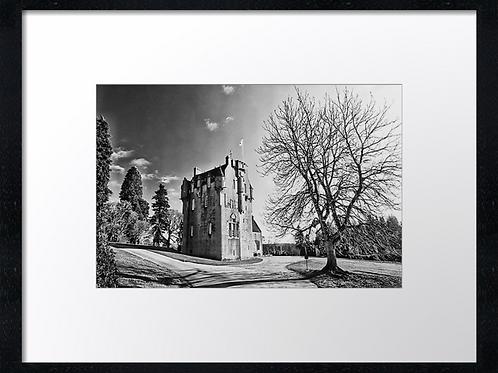 Crathes castle 40cm x 30cm framed print or canvas print