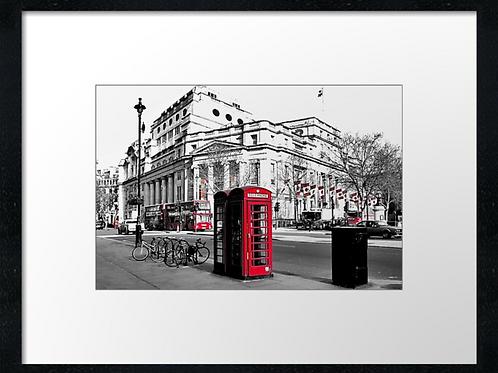 London (5) print or canvas print (example shown 40cm x 30cm framed print)