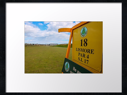 Carnoustie 12 Print or canvas, example 40cm x 30cm framed print