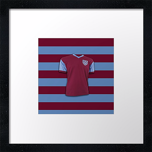 "West Ham Vintage  (Example shown 10"" Framed print £21.50)"