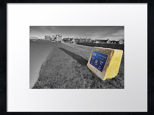 St Andrews Golf 6 Print or canvas. Example 40cm x 30cm framed print