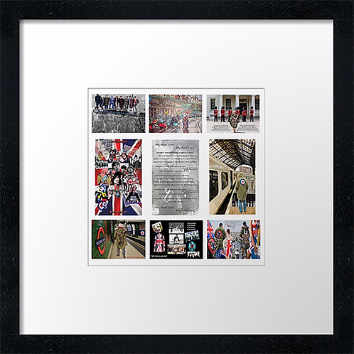 "9 pic mod collage Print or canvas print Example shown is 10"" Framed print £21.50"