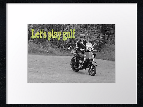 Golf boy quotes (5) 40cm x 30cm framed print or canvas print