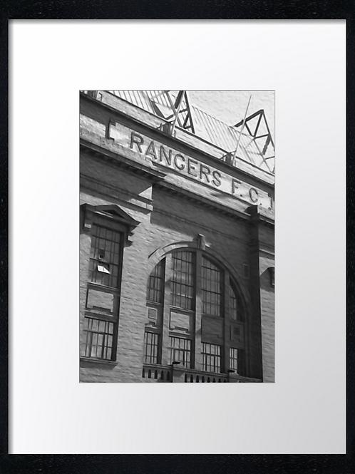 Rangers  (23) 40cm x 30cm framed print or canvas print