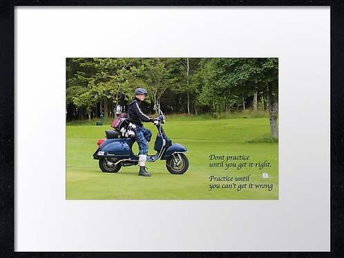 Golf boy quotes (4) 40cm x 30cm framed print or canvas print