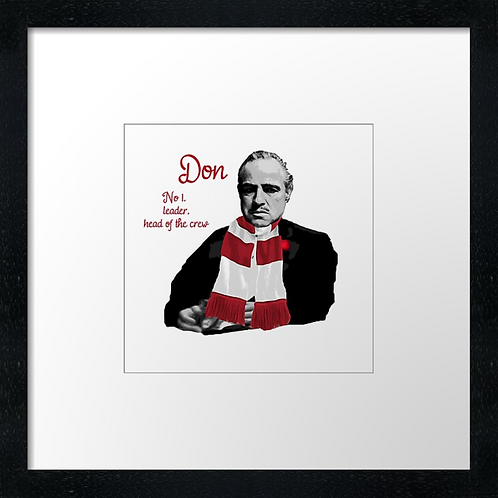 """Aberdeen FC The Don (Example shown 10"""" Framed print £21.50)"""