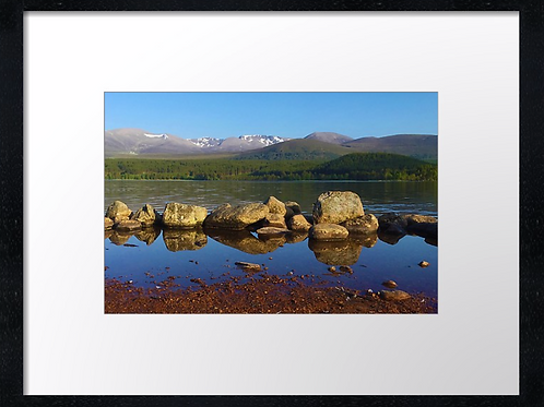 Aviemore.  40cm x 30cm framed print or canvas pri