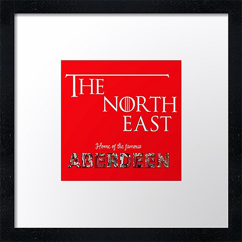 "The North East (4) Example shown 10"" framed print £21.50"