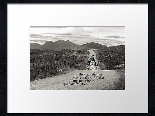 Jimmy 40cm x 30cm framed print, canvas print or A4, A3 mounted print