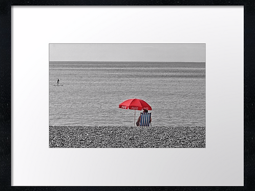 Brighton 40cm x 30cm framed print, canvas print or A4, A3 mounted print
