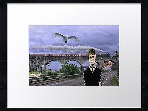 Harry Potter (Fantasy) 40cm x 30cm framed print or canvas print