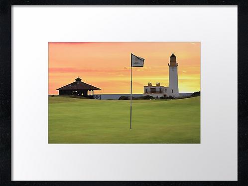 Turnberry golf course (2) 40cm framed print or canvas print