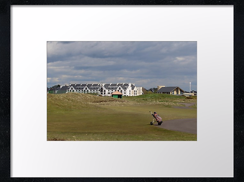Carnoustie 7 Print or canvas, example 40cm x 30cm framed print