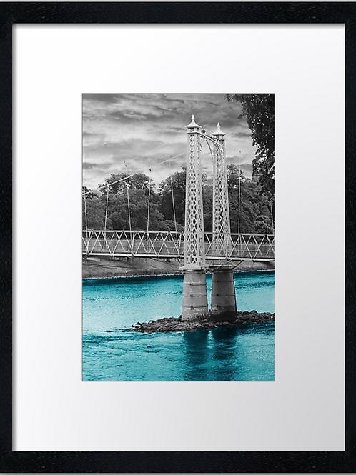 Inverness bridges (3) 30cm x 40cm framed print, canvas print or A4, A3 m