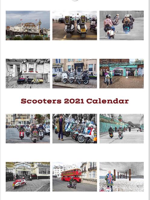 2021 Scooter Calendar