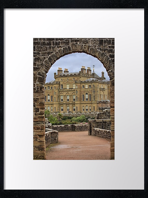 Culzean castle (3) 40cm x 30cm framed print or canvas print
