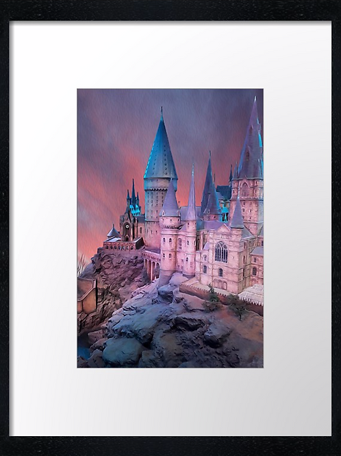 Harry Potter (Hogwarts 3) 40cm x 30cm framed print or canvas print