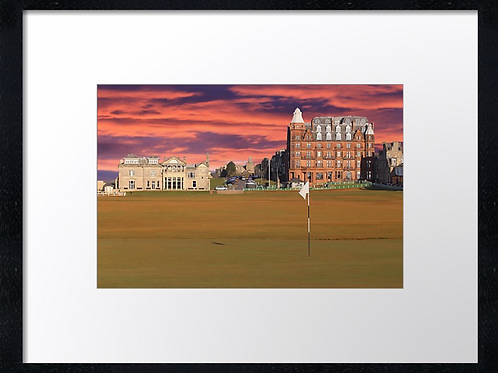 St Andrews Golf 7 Print or canvas. Example 40cm x 30cm framed print