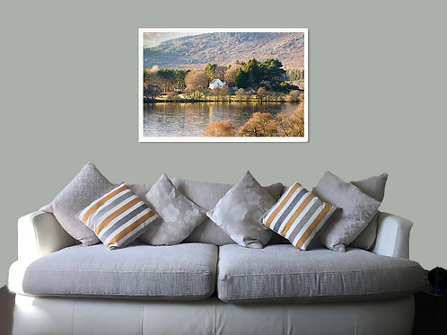Alvie Church, by Aviemore, poster,canvas print, poster, print or framed pr