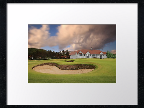 Turnberry golf course (5) 40cmx 30cm framed print or canvas print