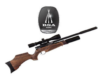 BSA R-10 SE WALNUT
