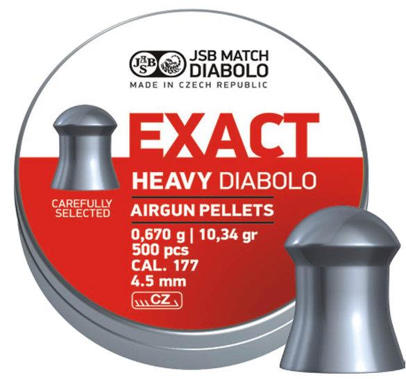 EXACT HEAVY DIABOLO 4.5 mm