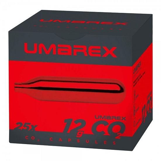 Umarex CO2 Capsules Content: Carton 25 x 12 g