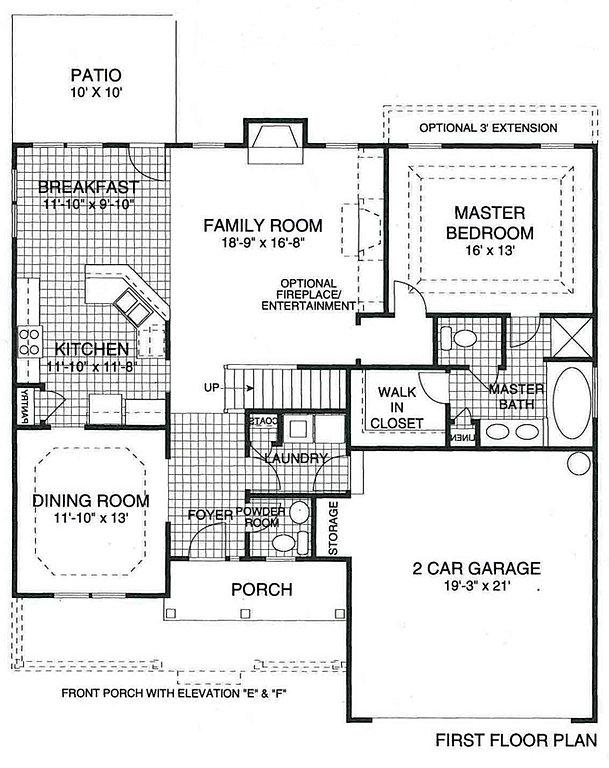 Brookwood Coastal Floorplans