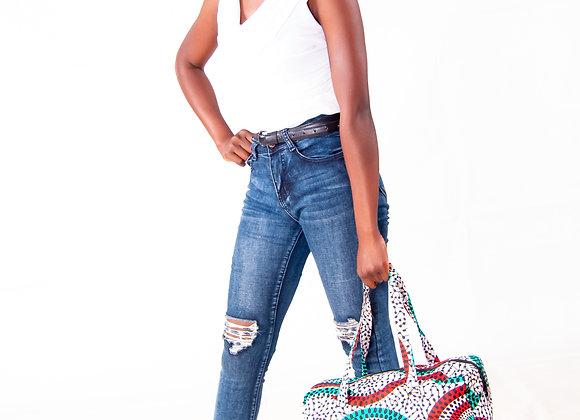 Rara African Print Duffle bag