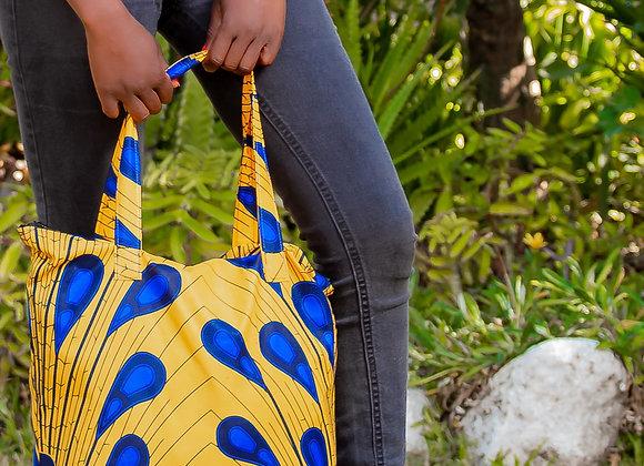 Saru African print Tote bag