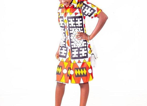 Chipo Shirt Dress