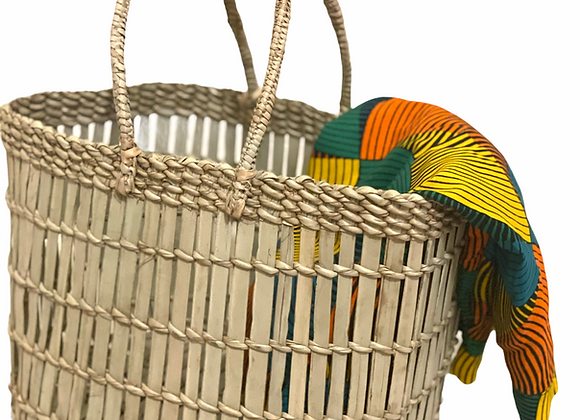 Zuva Natural reed hand-woven Reed basket