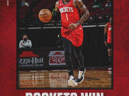 Rockets Break Five-Game Losing Streak As Wall Returns To The Lineup